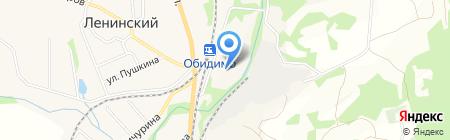 Клаксон на карте Барсуков