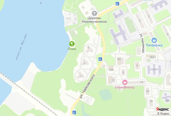 жилой комплекс Левобережная дубрава