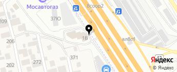 ЛР-БРАЗЕРС на карте Москвы