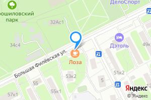 Двухкомнатная квартира в Москве Большая Филёвская улица, 53