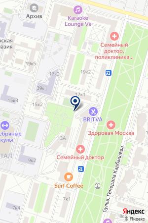 ГУ КЛУБ ФЕНИКС на карте Москвы
