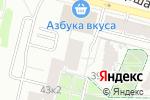 Схема проезда до компании ВСЕМ ЗАБОРЫ в Москве