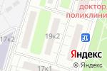 Схема проезда до компании Участковый пункт полиции в Москве