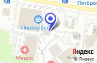 Схема проезда до компании ПТФ АЛЕКСА-М в Москве