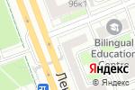 Схема проезда до компании КиберЦентр в Москве