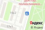 Схема проезда до компании Вольный ветер в Москве