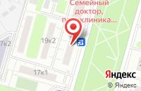 Схема проезда до компании Контосервис в Москве
