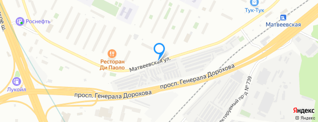 Матвеевская улица