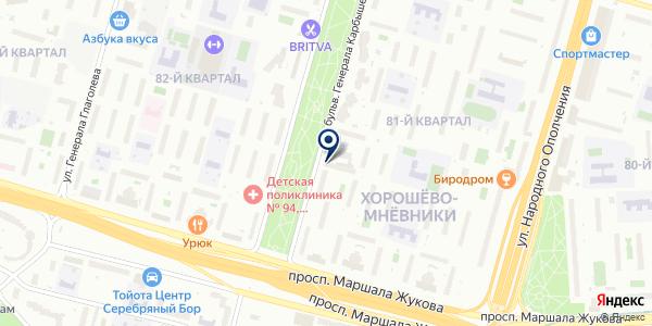 Банкомат, ВТБ Банк Москвы, ПАО Банк ВТБ на карте Москве