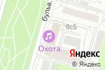 Схема проезда до компании ИнтерПроектСервис в Москве