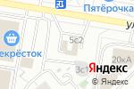 Схема проезда до компании АСЦ-Партнер в Москве
