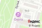Схема проезда до компании Гильдия на Полежаевской в Москве