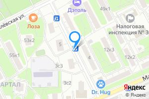 Двухкомнатная квартира в Москве Пинский проезд