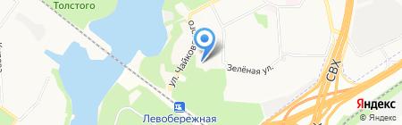Секонд-хенд на ул. Нахимова на карте Химок