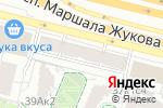 Схема проезда до компании НИИ добровольного пожарного общества по обеспечению пожарной безопасности в Москве