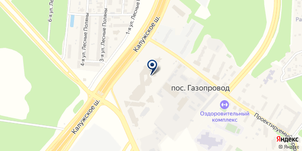 АвтономГаз на карте Москве