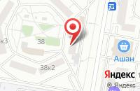 Схема проезда до компании Фд-Истэйт в Москве