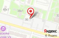 Схема проезда до компании Умные Проекты в Москве