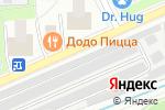 Схема проезда до компании NightAuto в Москве