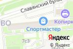 Схема проезда до компании Юридическое Открытие в Москве