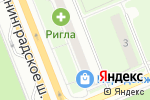 Схема проезда до компании Велла вояж в Москве