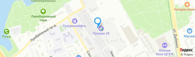 Левобережная улица