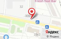 Схема проезда до компании Тк Дил в Москве