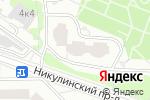 Схема проезда до компании ОДС №644 в Москве
