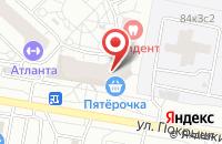 Схема проезда до компании Яблокофф в Москве