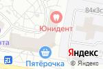 Схема проезда до компании Евро-Мед в Москве