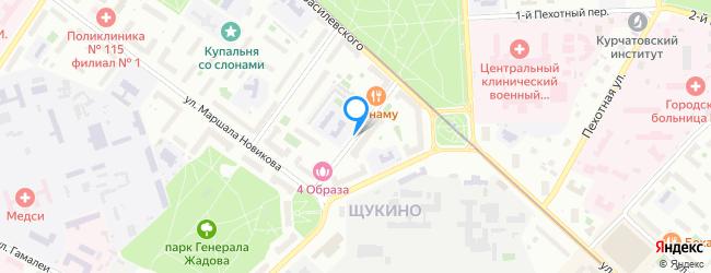 проезд Щукинский 3-й