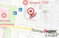 Схема проезда до компании Медиацентр в Москве