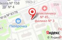 Схема проезда до компании Портал в Москве