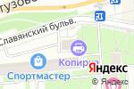 Схема проезда до компании Solovei в Москве