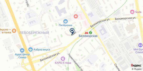 Магазин оптики и ортопедии на карте Москве