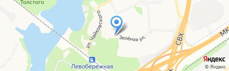 Платежный терминал МОСКОВСКИЙ КРЕДИТНЫЙ БАНК на карте Химок