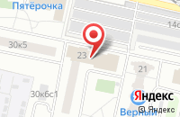 Схема проезда до компании Дискавери в Москве