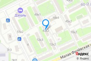 Сдается комната в двухкомнатной квартире в Москве Большая Филёвская ул., 49к2