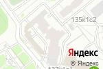 Схема проезда до компании Путешествие на машине времени в Москве