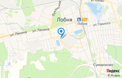Местоположение на карте пункта техосмотра по адресу Московская обл, г Лобня, ул Силикатная, д 2