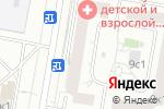 Схема проезда до компании Мастерская Натальи Макаровой в Москве
