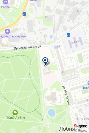 ВЕТЕРИНАРНАЯ КЛИНИКА МИРАЖ на карте Лобни