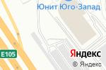 Схема проезда до компании Трудовик в Москве