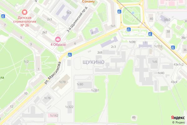 Ремонт телевизоров Район Щукино на яндекс карте
