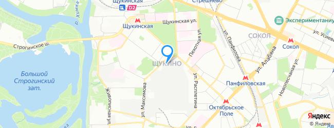 район Щукино