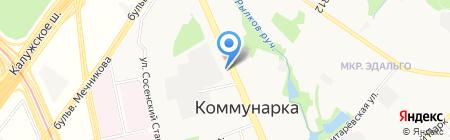 АСК Фриз на карте Москвы