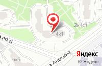Схема проезда до компании Дейта-Квест в Москве