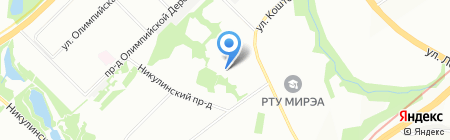 Айкубаз на карте Москвы