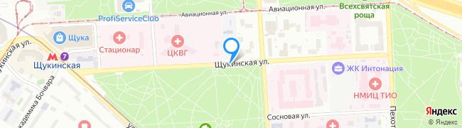 Щукинская улица