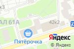 Схема проезда до компании ParisLife в Москве